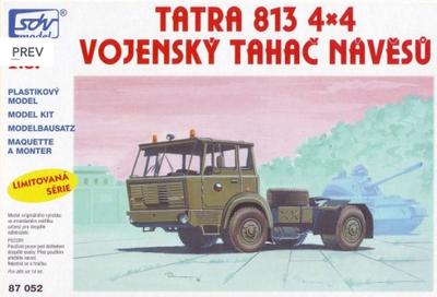 Tatra 813 4x4 vojenský tahač návěsů