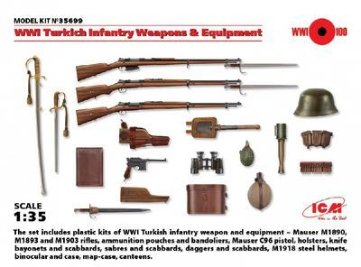 WWI Turkich Infantry Weapons & Equipment