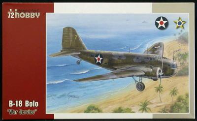 """B-18 Bolo """"War Service"""""""