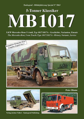 MB 1017 The Mercedes-Benz 5-ton Trucks Type 1017/1017A - History, Variants, Service - 1