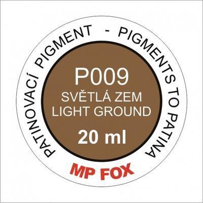 Pigment-světlá zem 20 ml
