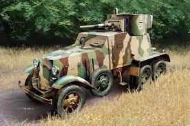 Soviet BA-6 Armour Car