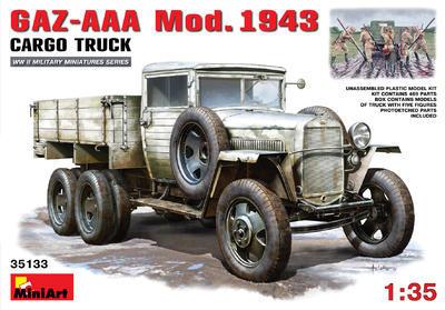 Gaz AAA Mod. 1943 Cargo Truck