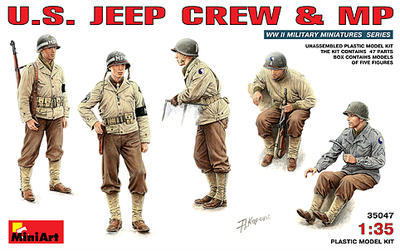 U.S. Jeep Creww and MP
