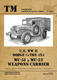 U.S. WWII Dodge 3/4-Ton 4x4 WC-51 & WC-52 Weapoons Carrier - 1/5