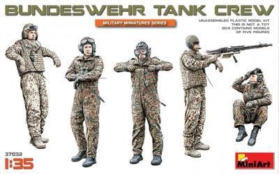 Bundeswehr Tank Crew 5 fig.