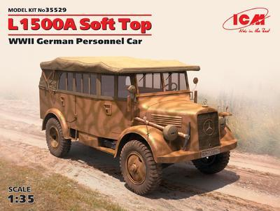 L1500A Soft Top WWII German Personnel Car