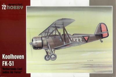 """Koolhoven FK-51 """"Netherlands East Indies Air Force"""""""