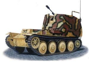 3cm MK 103 auf Sf 38(t)