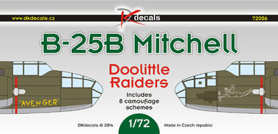 B-25B Mitchell Doolittle Raiders - 1