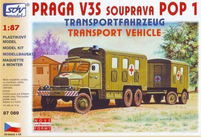Praga V3S  souprava POP 1