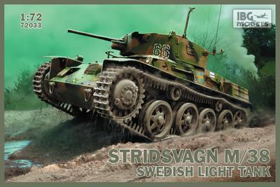 Stridvagen M/38 Swedish Light Tank