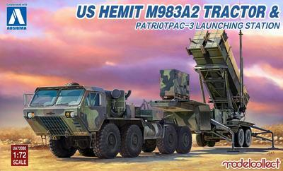 US HEMTT M983A2 Tractor and Patriot PAC-3