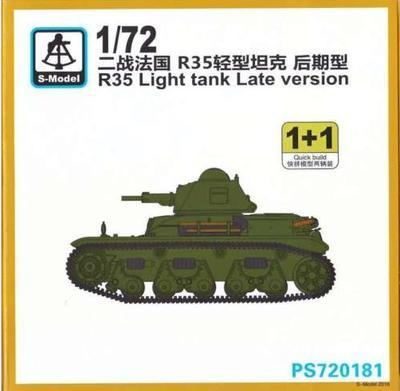 R35 Light tank Late version
