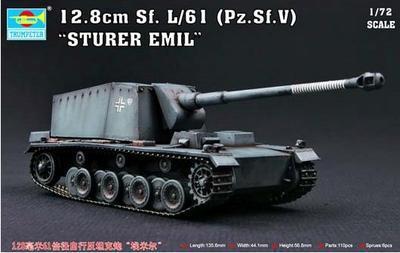12,8cm Sf.L/61 Sturer Emil