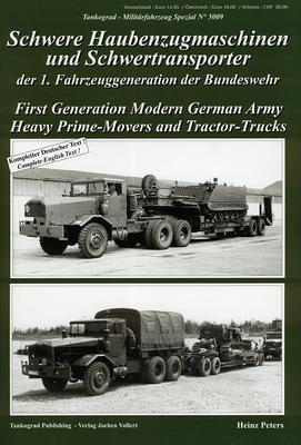 Schwere Haubenzugmaschinen und Schwertransporter der BW