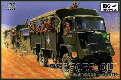Bedford QLT 4x4 Troop Transport