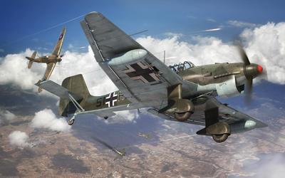 JUNKERS Ju87R-2/B-2 Stuka - 1