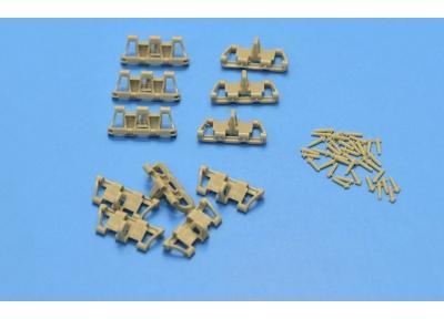 Resin tracks for Pz.Kpfw.III , Pz.Kpfw.IV 1940-41 380 mm Early