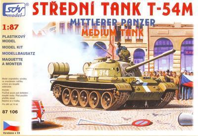 Střední tank T-54M
