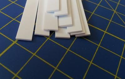 Strips 1 x 6,3 mm