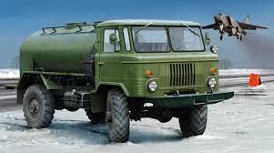 Russian Gaz-66 Oil Tanler
