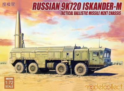 Russian 9K723 Iskander - M