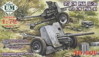 3.7 cm PAK 35/36 a 4.2 cm PAK 41
