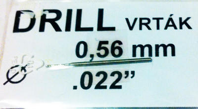 Vrták 0,56mm