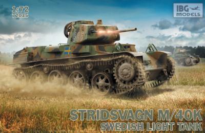 Stridvagn M/40K Swedish Light Tank