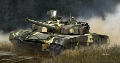 Ukrainian T-84 BM Oplot MBT