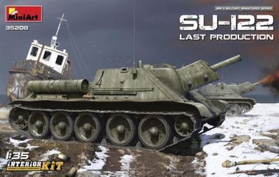 SU-122 Last production w/ Interior kit