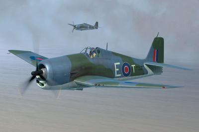 British Fleet Air Arm Hellcat Mk.II 1:48