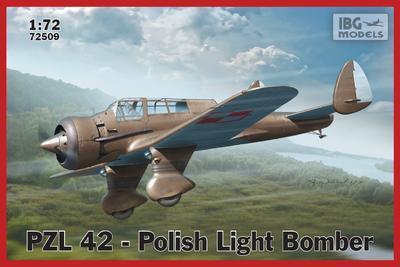 PZL. 42 - Polish Light bomber - 1