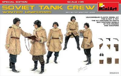 Soviet Tank Crew - Winter Uniforms