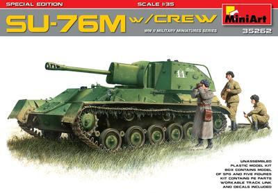 SU-76M with Crew - 1
