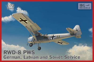 RWD-8 PWS – German, Latvian and Soviet service.