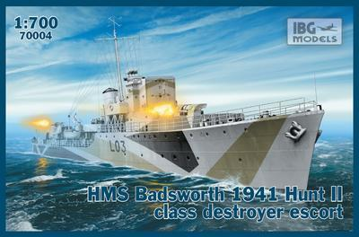 HMS Badsworth 1941 Hunt II class destroyer escort - 1