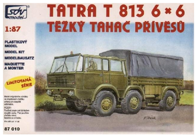 Tatra T-813 6x6 těžký tahač návěsů