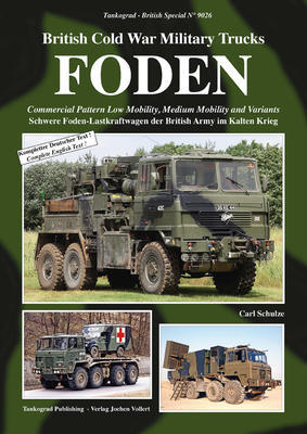British Cold War Military Trucks - FODEN Commercial Pattern Low Mobility, Medium Mobilit  - 1