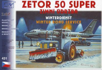 Zetor 50 Super, zimní údržba