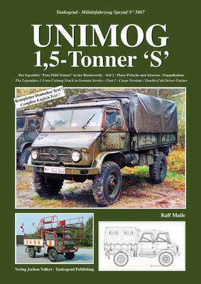 Unimog 1,5-Tonner 'S' The Legendary 1.5-ton Unimog Truck in German Service Part 2 - Carg - 1