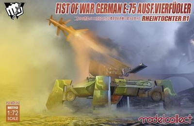Fist Of War German E-75 Ausf. Vierfubler Rheintochter R1