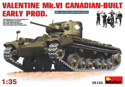 Valentine Mk.VI Canadian Built Early Prod.