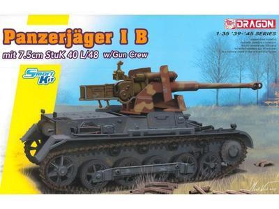 Pancerjager I B mit 7,cm Stuk 40 L/48 w/Gun Crew