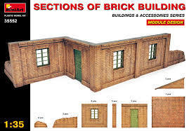 Section of Brick Building