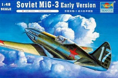 Soviet MiG-3 Early Version