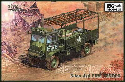 Bedford QL  3ton 4x4 Fire Tender