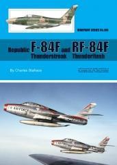 Republic F-84F and RF-84F Thunderstreak Thunderflash