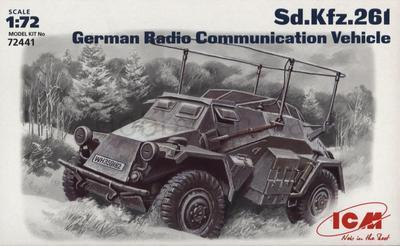 Sd.Kfz.261 German Radio Communication Vehicle